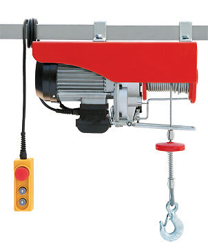 Light Duty Electric Hoist. Wire Rope Hoist 1000kg SWL