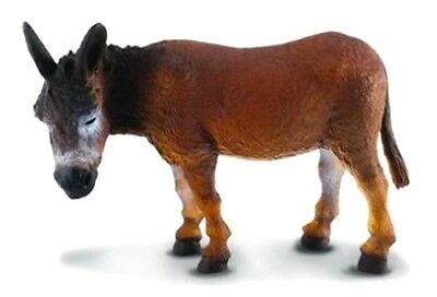 New CollectA Brown Donkey Toy Figure 88165 -  FREE UK DELIVERY !