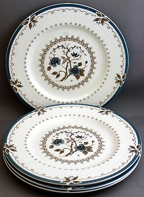 4 Royal Doulton Bread & Butter Plates-Old Colony  J 119