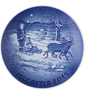 Bing & Grondahl 2015 Christmas Plate NIB Father Christmas 902215 NEW IN BOX