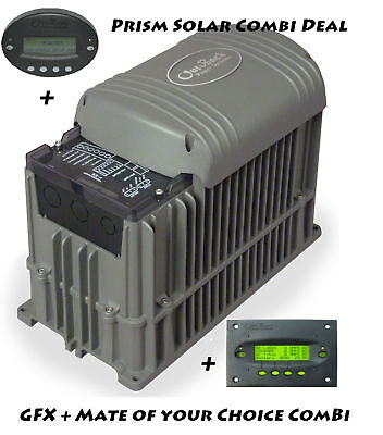 Outback  GFX Off Grid Inverter Charger + Mate Combi with Free Insured Shipping