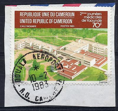 CAMEROON = POSTMARK `DOUALI AEROPORT` Single Ring. (1983)