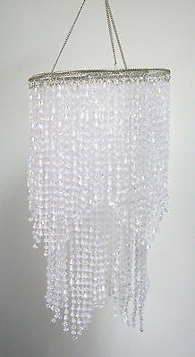 Hanging Acrylic Beaded Ceiling Lampshade