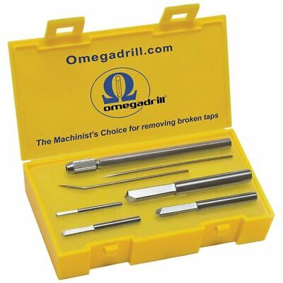 OmegaDrill OD-SET1 Broken Tap Extractor & Set, Size: Assorted