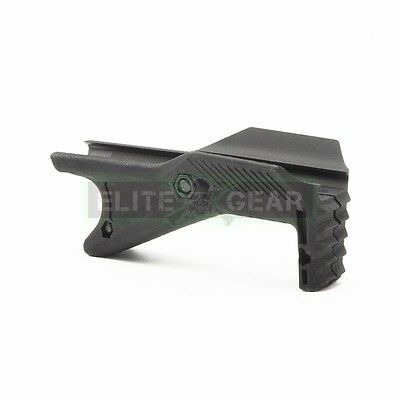 Black Tactical Cobra Angled Ergonomic Hand Stop Foregrip Fore Grip for Picatinny