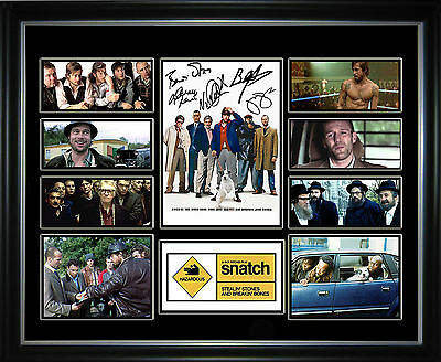 Snatch Limited Edition Signed Framed Memorabilia