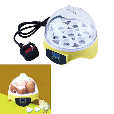 Automatic Controller Convenience Mini Egg Poultry 7 Hatcher Egg Incubator