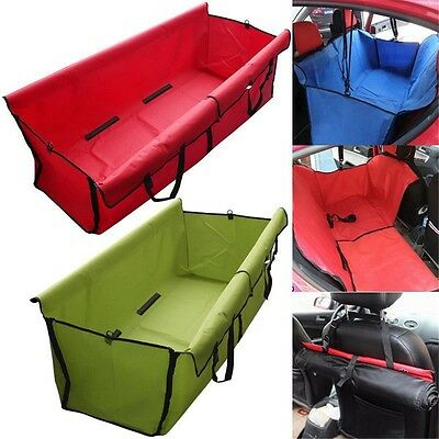 Pet Dog Cat Car Rear Back Seat Waterproof Cover Safety Mat Protector Hammock UK
