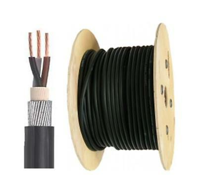 All Sizes 100 Meter 3 Core SWA Outdoor Cable 6943X PVC Steel Wire Armoured Cable