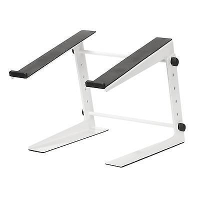 DJ Laptop Stand - White Adjustable Laptop / Mixer Stand - FREE Express Delivery