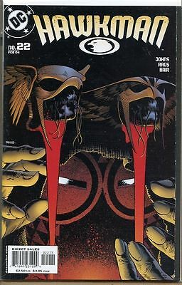 Hawkman 2002 series # 22 near mint comic book