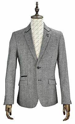 "Mens Smart Formal Semi Fitted Sports Jacket ""Barkley"""