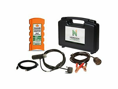 JPro Heavy-Duty Trailer Diagnostic Adapter Kit Wabco Wabash Haldex Bendix 122511