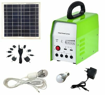 Off Grid LED Light System - 10W Solar - Camping lights, solar charger