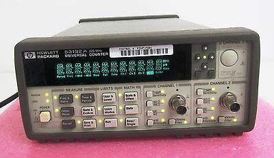 HP / Agilent / Keysight 53132A 225MHz Universal Frequency Counter - USED