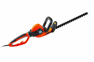 Electric Hedge Trimmer Cutter 550w Multi Angle Handle 460mm Dual Blade eSkde