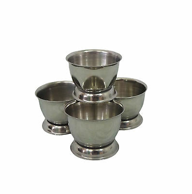 Egg Cup Set Stainless Steel Sunnex 4 Piece Set