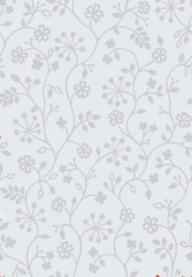 D-C-Fix Self Adhesive Film To Obscure Glass Window 45cm x 1.5m, Floral 338-0013