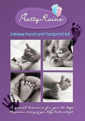 Inkless Hand and foot print Deluxe- Perfect Gift for Baby/Newborn