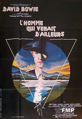 The Man Who Fell To Earth - David Bowie - Original Large French Movie Poster