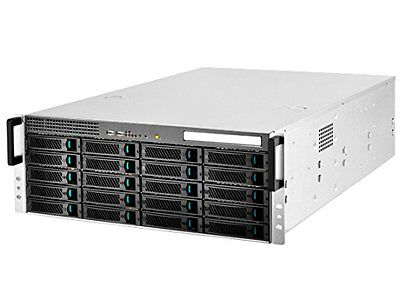 Silverstone RM420 20-Bay 3.5-Inch Hot-Swap Rackmount Storage Server Chassis Case