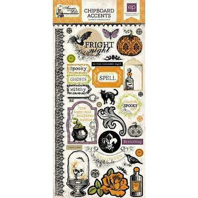 New Echo Park Arsenic & Lace Chipboard Accents