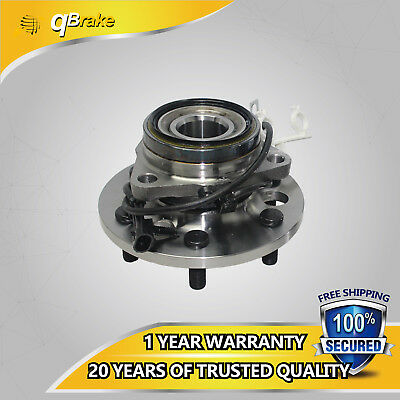 One New Front Wheel Hub Bearing Assembly fit 95-00 GMC Chevy Cadillac 4WD W/ABS