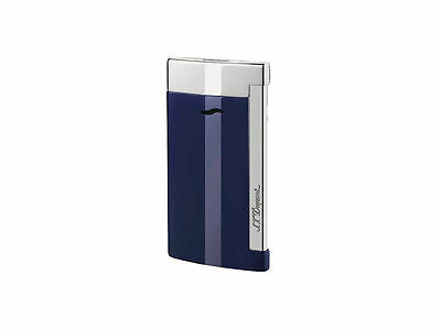 S.T. Dupont Slim 7 Lighter, Blue Lacquer Finish, # 27709 (027709), New In Box