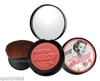 Soap and Glory MADE YOU BLUSH! Cheek Colour/Rouge Blusher Compact ROSY CHIC