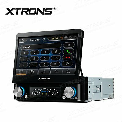 "Single DIN 7"" Head Unit In Dash Car DVD Player Bluetooth Stereo DAB+/GPS Sat-Nav"
