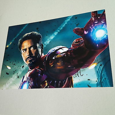 ROBERT DOWNEY JR. IRON MAN Captain America IN-PERSON signed Photo 20x30