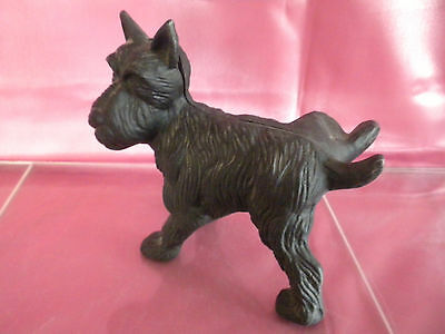 Cast Iron Scottish Terrier /VTG Old Styled Unsigned Heavy Door Stop/Paperweight