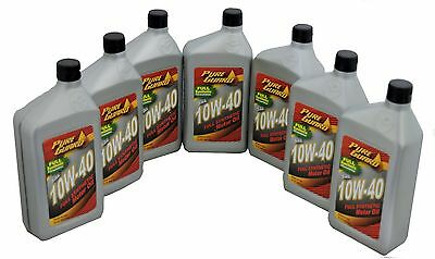 Full Synthetic Motor Oil 10W40  7 Quarts PURE GAURD