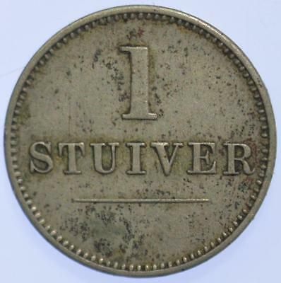 Curacao - J. & Co. (Jesurun and Co.) stuiver Token  ND (ca. 1880)