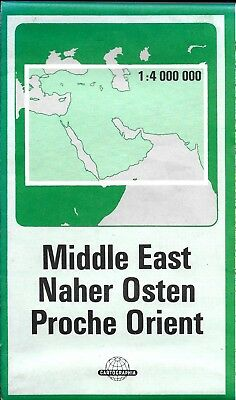 Map of The Middle East, by Gizi Maps