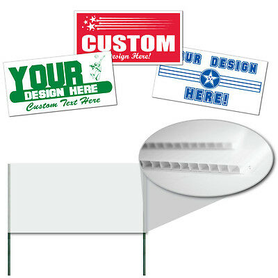 "Corrugated Plastic 4MM WHITE Sign Blanks-24""x48"" 25/BNL"