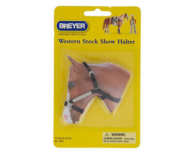 Breyer Tradtional Series #2490 Western Stock Show Halter w/ Lead Rope! -New-Fac
