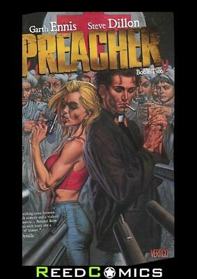 PREACHER BOOK 2 GRAPHIC NOVEL New Paperback Collects Issues #13-26 Garth Ennis