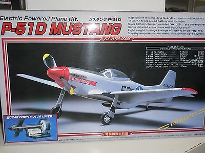 Union Model Electric Powered Plane Kit P51D Mustang Apertura Alare 62 Cm