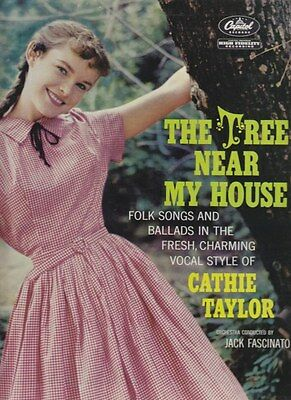 Cathie Taylor . Tree Near My House . Canadian artist . USA 1961 Capitol mono LP