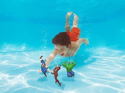 Swimming Pool Avengers Diving Characters Stick Summer Water Sports Kids Dive Toy