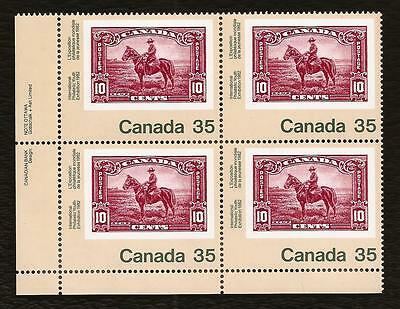 CANADA Canadian retro postage stamps souvenir sheet RCMP MNH