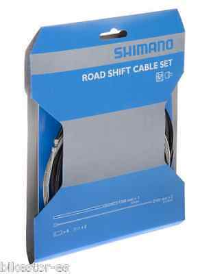 1 Shimano Juego Fundas y Cable Cambio Carretera Road Shift Cable Set
