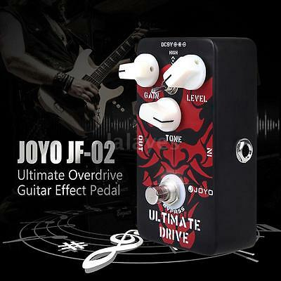JOYO JF-02 Ultimate Drive Overdrive Guitar Effect Pedal C7H2