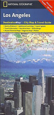 National Geographic Map of Los Angeles, California  Destination Map City Guide