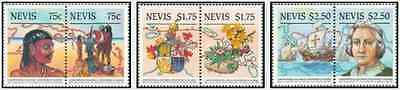 Timbres Nevis 381/6 ** lot 14127