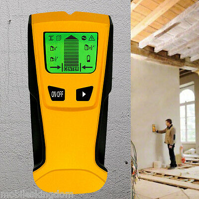 3 en 1 Floureon Stud Center Finder Metal y AC Live Wire Detector LCD Pantalla