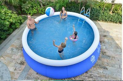 3 m( 9.84ft) handmade inflatable durable PVC swimming pool with filter and pump