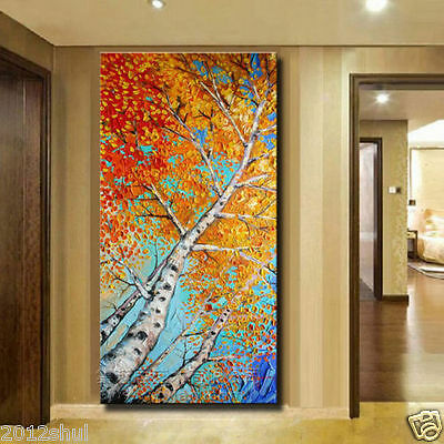 Modern Abstract Huge Wall Decor Oil Painting On Art Canvas (No Frame)