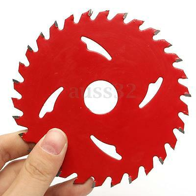 Wood Cutting Discs Mandrel Rotary Circular Carbide Tipped Saw Blades Tool New